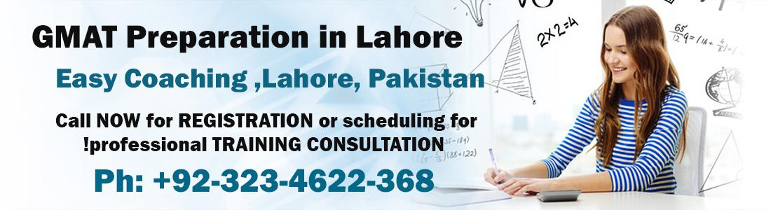 GMAT Preparation in Lahore